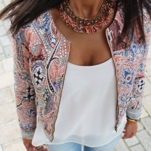 New Women s Fashion Long Sleeve Floral Slim Casual Summer Blazer Suit Jacket Coat Outerwear