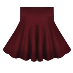 New fashion preppy style women skirt wool knitted pleated skirts womens mini high waist skirt winter