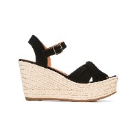 Chie Mihara - wedge sandals - women - レザー/Foam Rubber - 39