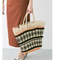 ROSSO SENSI STUDIO FRAYED OVAL BASE BAG【アーバンリサーチ/URBAN RESEARCH その他(バッグ)】