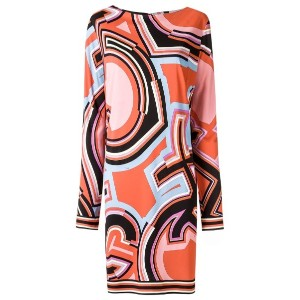 Emilio Pucci - 66RH7066754024 Corallo Artificial->Viscose - women - ビスコース/シルク - 38