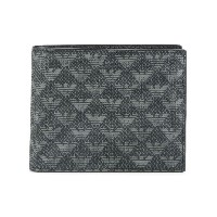 Emporio Armani - logo embossed wallet - men - カーフレザー - ワンサイズ