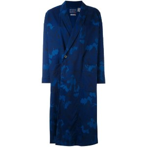 Blue Blue Japan - printed kimono coat - women - リヨセル - S