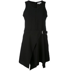 Carven - belted skater dress - women - シルク/ポリエステル/アセテート - 40