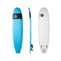 SOFTECH SURFBOARDS 7'6 BLUE HAND SHAPED SOFTBOARD 【ソフテック】 サーフボード ソフトボード 送料無料