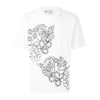 Paul & Joe - embroidered flower T-shirt - men - コットン - XL