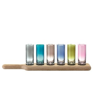 G1049-03-666 PADDLE VODKA COLOURS L40cm TLA1282