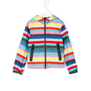 Ai Riders On The Storm Kids - striped jacket - kids - ポリエステル - 10歳
