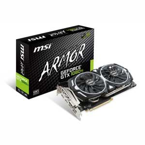 GTX1080TIARMOR 11GOC【税込】 MSI PCI-Express 3.0 x16対応 グラフィックスボードMSI GeForce GTX 1080 Ti ARMOR 11G OC ...
