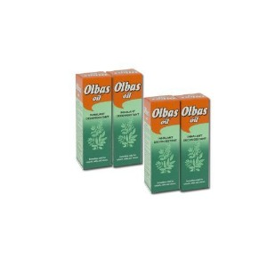 Olbas Oil Inhalant Decongestant 28ML - PACK OF 4 [Baby Product]