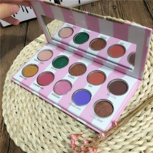 Dose of Colors Eyes Cream Palette Limited Edition Eyeshadow Palette 10 Shades Pigment Eye Shadow
