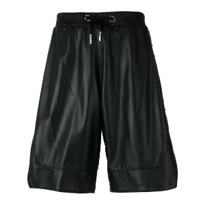 Philipp Plein - Gold Star shorts - men - ラムスキン/ビスコース - M