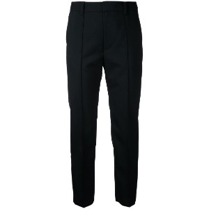 Le Ciel Bleu - Neo tapered trousers - women - ウール - 32