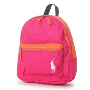 【SALE 5%OFF】ポロラルフローレン POLO RALPH LAUREN POLO RALPH LAUREN CAMP BACKPACK SM (ULTRA PINK)