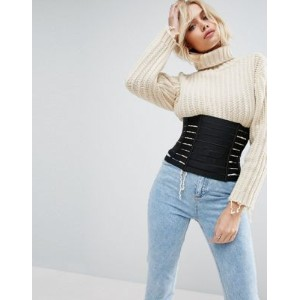 ASOS エイソス Tammy Strappy Corset Waspie