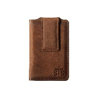 STSランチウェア メンズ 財布・時計・雑貨 マネークリップ【The Foreman Money Clip】Brown Leather