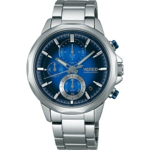 【SALE 10%OFF】SEIKO ワイアード WIRED THE BLUE 「WATER BLUE」 メンズ