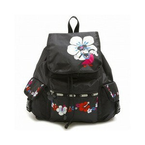 LeSportsac レスポートサック7839-P945 VOYAGER BACKPACK ディズニー ボイジャー リュックサック バッグ HULA HIBISCUS【f】【新品/未使用/正規品】