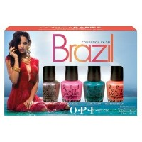 (OPI) OPI Brazili Nail Polish Collection Copacababies Mini 4 Count (2014-02-05)