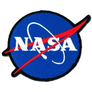 1 X NASA Logos Iron on Patches by DIYmonk Patch