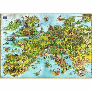 HEYE Puzzle・ヘイパズル 08854 Marino Degano : United Dragons of Europe 4000ピース