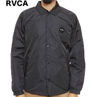 RVCA Motors Coach Jacket Pirate Black L コーチジャケット 並行輸入品
