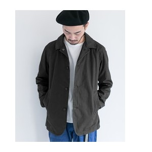 DOORS D'sh Washed Coverall JACKET【アーバンリサーチ/URBAN RESEARCH メンズ その他(ジャケット・スーツ) Black ルミネ LUMINE】
