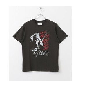 Sonny Label ACDCロックTシャツ【アーバンリサーチ/URBAN RESEARCH Tシャツ・カットソー】