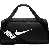 ナイキ メンズ ボストンバッグ バッグ Nike Nike Brasilia 6 Medium Duffel Bag - 3660cu in Black/Black//White