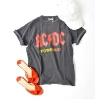 GOOD ROCK SPEED:ACDC TEE【シップス/SHIPS Tシャツ・カットソー】