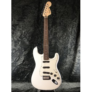 Squier Deluxe Hot Rails Stratocaster OWT 新品 オリンピックホワイト[スクワイヤー][デラックス,DX][Olympic White,白][ストラトキャスター...