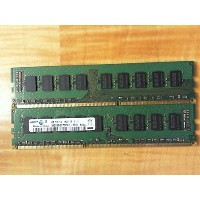 Samsung m391b5273ch0-yh9 4 GBサーバーDIMM ddr3 pc10600 ( 1333 ) Unbuf ECC 1.35 V 2rx8 240p 512 mx72 256...