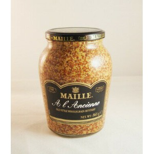 マイユ 種入りマスタード(粒) MAILLE A l Ancienne OLD STYLE WHOLEGRAIN MUSTARD