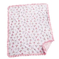 Mud Pie Minkie Blanket Infant Nursery, Ballerina by Mud Pie