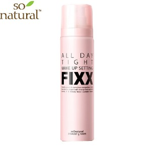 SO NATURAL All Day Makeup Fixer 75ml / Spray type / Long Lasting product / Cosmetic