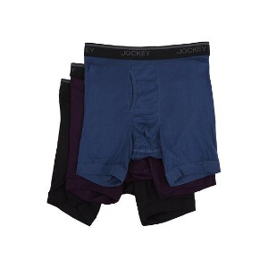 【ポイント2倍!5/29 9:59マデ】Jockey Staycool Classic Fit Athletic Midway? Brief 3-Pack