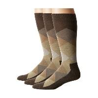 HUE Blocked Sock with Half Cushion 3-Pack