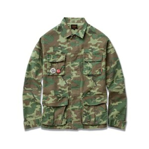 "FUCT SSDD / ""R.F.L"" CAMOUFLAGE JACKET 9501 ファクト カモ ジャケット"