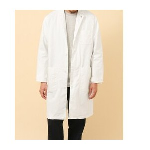 DOORS FORK&SPOON Downproof Work Coat【アーバンリサーチ/URBAN RESEARCH ノーカラーコート】