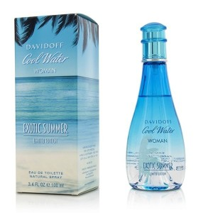 ダビドフ Cool Water Exotic Summer Eau De Toilette Spray (Limited Edition) 100ml/3.4oz