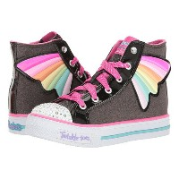 SKECHERS KIDS Twinkle Toes - Shuffles 10707L Lights (Little Kid/Big Kid)