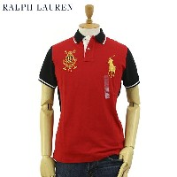 "Ralph Lauren Men's ""PRINCE'S BUILDING POLO TEAM"" Polo Shirts US ポロ ラルフローレン メンズ カスタムフィット ポロチーム ポロシャツ"
