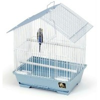 Prevue Hendryx PP-31600 House Style Parakeet Cage