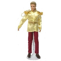バービー ケン 着せ替え用/洋服 Ken16 (Ken 2 piece Prince Charming Outfit in Yellow and Maroon Made to Fit the Ken...