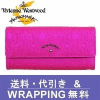 【Vivienne Westwood ANGLOMANIA】ヴィヴィアン ウエストウッド アングロマニア 長財布(小銭入れ付) レディース ピンク 390011 CHILHAM PINK【送料無料】