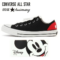 Cコンバース オールスター 生誕100周年記念モデル ONVERSE ALL STAR 100 MICKEY MOUSE HD OX コンバース オールスター 100 ミッキーマウス HD OX...