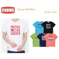 CHUMS チャムス CH01-1100 Chums USA T-Shirt チャムスUSATシャツ ※取り寄せ品