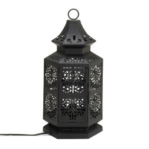 Home Locomotion Large Moroccan Style Table Lamp by Tom & Co.