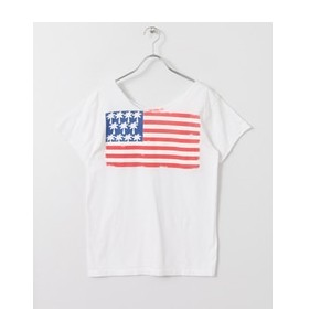 Sonny Label CALI GOOD LIFE USA PALM FLAG T-SHIRTS【アーバンリサーチ/URBAN RESEARCH Tシャツ・カットソー】