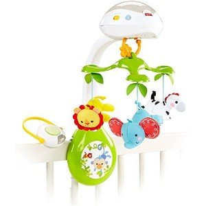 Fisher-Price Deluxe Projection Mobile, Rainforest Friends 3-in-1 [並行輸入品]